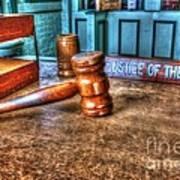 Dealing Justice Art Print