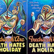 Death Takes A Redux Art Print