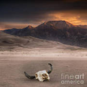 Death In The Desert Art Print