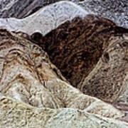 Death Valley Desert Rocks Art Print