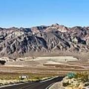 Death Valley Highway Art Print