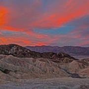 Death Valleyt Art Print