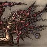 Death's Angel Art Print