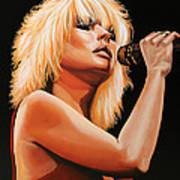 Deborah Harry Or Blondie 2 Art Print