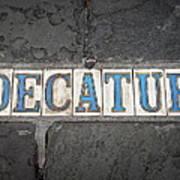 Decatur Art Print