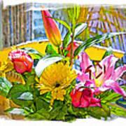 December Flowers Art Print by Chuck Staley