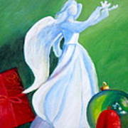 December's Angel Art Print