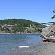 Deception Pass Bridge II Art Print