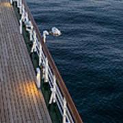 Deck Sea Art Print