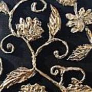 Decor Black And Gold Art Print by Lori McPhee