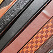 Decorated Belts Art Print