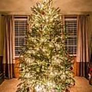 Decorated Christmas Tree Art Print