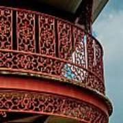 Decorative Balcony Art Print