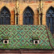Decorative Roof Art Print