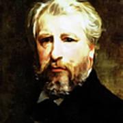 Dedication To William Adolphe Bouguereau Art Print