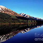 Deep Blue Lake Alaska Art Print