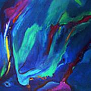 Deep Blue Thoughts Art Print