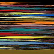 Deep Color Field 2 Art Print