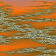 Deep Color Field 3 Art Print