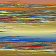Deep Color Field 4 Art Print