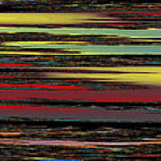 Deep Color Field Art Print