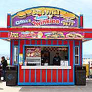 Deep Fried Hostess Twinkies At The Santa Cruz Beach Boardwalk California 5d23689 Art Print by Wingsdomain Art and Photography