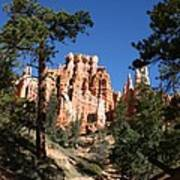 Deep In The Bryce Canyon Art Print