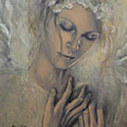 Deep Inside Art Print by Dorina  Costras