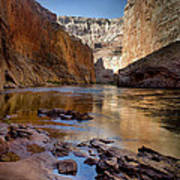 Deep Inside The Grand Canyon Art Print