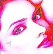 Deepika Padukone Art Print by Ricky Nathaniel