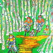 Deer Valley Mountain Biking 1 Art Print