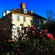 Deerfield House 1 Art Print
