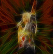 Def Leppard-adrenalize-joe-gb22-fractal-1 Art Print