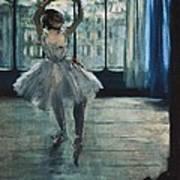 Degas, Edgar 1834-1917. Dancer Art Print by Everett