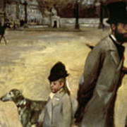 Degas Place De La Concorde Art Print