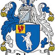 Dehany Coat Of Arms Irish Art Print