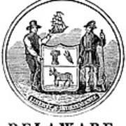 Delaware State Seal Art Print