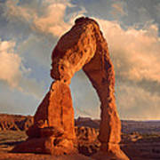 Delicate Arch In Arches National Park Art Print