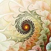 Delicate Wave Art Print by Anastasiya Malakhova