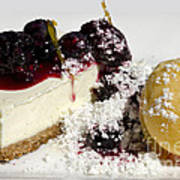 Delicious Dessert Art Print by Sheldon Kralstein
