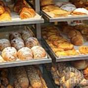 Delicious Pastries In Brussels Art Print