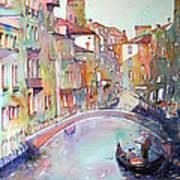 Delight Of Venice Art Print