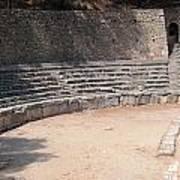 Delphi Stadium Ruins 3 Art Print