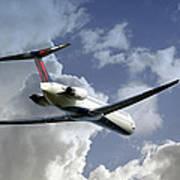 Delta Jet Art Print