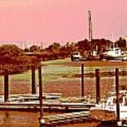 Delta Marina And Hues Of Color Art Print