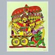 Demon King Ravana Art Print