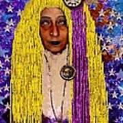 Demonica Vintage Goth Art Print