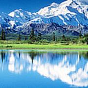 Denali National Park Ak Usa Art Print