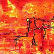 Dendritic Echoes Art Print