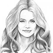 Denise Richards Art Print
